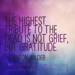 gratitude grief