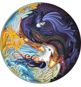 Yin Yang Clock