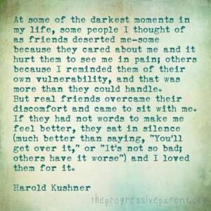 darkest moments